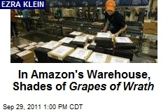 In Amazon's Warehouse, Shades of Grapes of Wrath