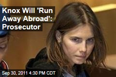 Amanda Knox Prosecutor Calls Her Flight Risk in Italian Appeal Trial
