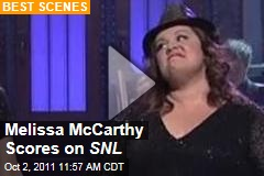 Melissa McCarthy Saturday Night Live: 'Bridesmaids' Actress Goes Naughty, Gets Raunchy