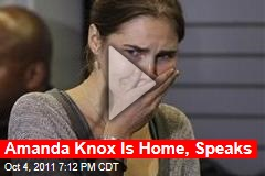 Amanda Knox Returns to Seattle