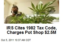 Calif. Pot Shop Up In Smoke Over Taxes
