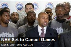 NBA Set to Cancel Games