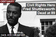 Civil Rights Leader Rev. Fred Shuttlesworth Dead at 89
