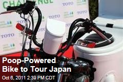 TOTO Toilet Bike Neo, Powered by Poop, Will Tour Japan