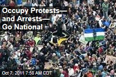 Occupy Wall Street Protests—and Arrests—Go National