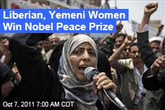 Ellen Johnson Sirleaf, Leymah Gbowee, Tawakul Karman Share Nobel Peace Prize