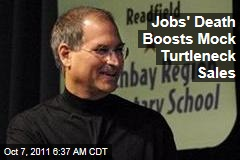 Steve Jobs' Death Boosts Mock Turtleneck Sales