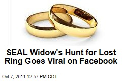 SEAL Widow's Hunt for Lost Wedding Ring Goes Viral Thanks to Facebook