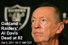 Oakland Raiders Owner Al Davis Dead at 82