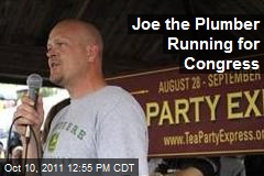 Joe the Plumber Running for Congress