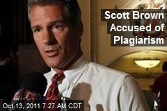 Scott Brown Accused of Plagiarism