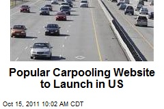 Popular Carpooling Website to Launch in US