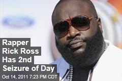 Rapper Rick Ross Suffers Second Seizure of Day Aboard His Plane