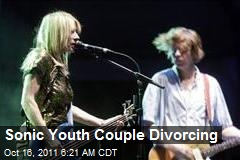 Sonic Youth Couple Divorcing