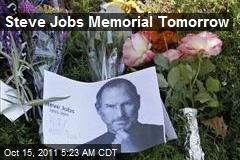 Steve Jobs Memorial Tomorrow
