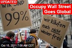 Occupy Wall Street Goes Global