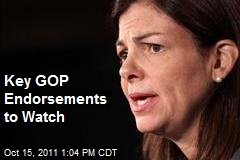 Key GOP Endorsements to Watch