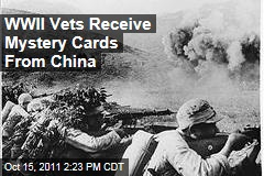World War Two Veterans Receive Mystery Thank-You Cards From China