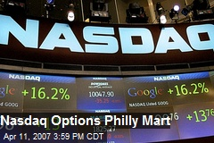 Nasdaq Options Philly Mart