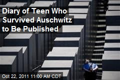Diary of Teen Who Survived Auschwitz to Be Published