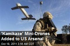'Kamikaze' Mini-Drones Added to US Arsenal