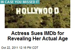 Actress Sues IMDb for Revealing Her Actual Age