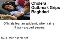 Cholera Outbreak Grips Baghdad