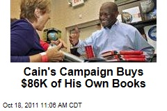 Herman Cain Buys Own Autobiography With Campaign Cash