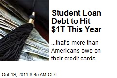 Student Loan Debt to Hit $1T This Year