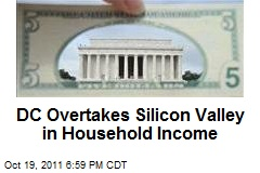 DC Overtakes Silicon Valley in Household Income
