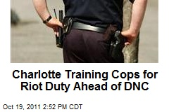 Charlotte Training Cops for Riot Duty Ahead of DNC