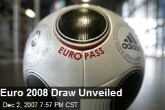 Euro 2008 Draw Unveiled