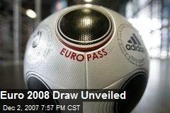 Euro 2008 Draw Unveiled