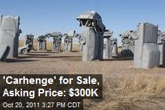 'Carhenge' for Sale, Asking Price: $300K