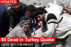 7.3 Quake Rocks Turkey