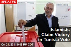Islamists Winning Big in Tunisia Vote