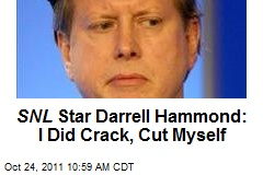 SNL Star Darrell Hammond: I Did Crack, Cut Myself