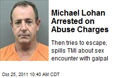 Michael Lohan Arrested on Abuse Charges