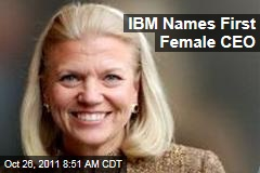 Virginia Rometty Named First Female CEO of IBM