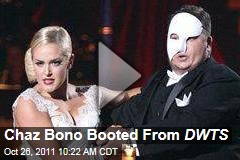 VIDEO: Chaz Bono Eliminated From 'Dancing With the Stars'