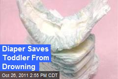 Diaper Saves Toddler From Drowning