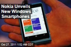 Nokia Unveils 'Lumia' Windows Smartphones