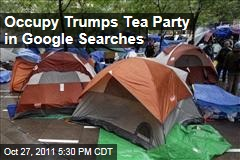 Occupy Wall Street Google-Searched More Often Than Tea Party
