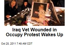 Scott Olsen, Iraq War Vet Injured at Occupy Oaklan, Wakes Up