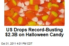 Americans Spend Record $2.3B on Halloween Candy
