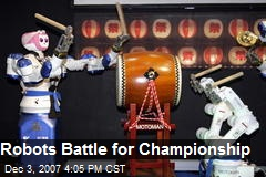 Robots Battle for Championship