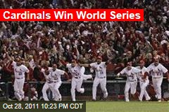 St. Louis Cardinals Beat Texas Rangers in Game 7 to Win World Series