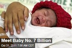 7-Billionth Babies Born: Danica in Philippines, Nargis in India
