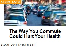 The Way You Commute Could Hurt Your Health