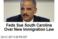 Justice Department Sues South Carolina Over New Immigration Law